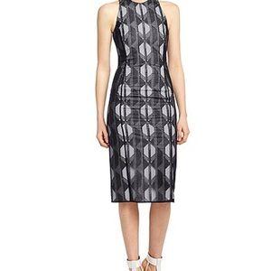 Hugo Boss Runway Dalasi FS Midi Dress Embroidered